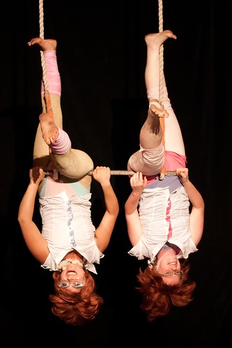 A circus performance