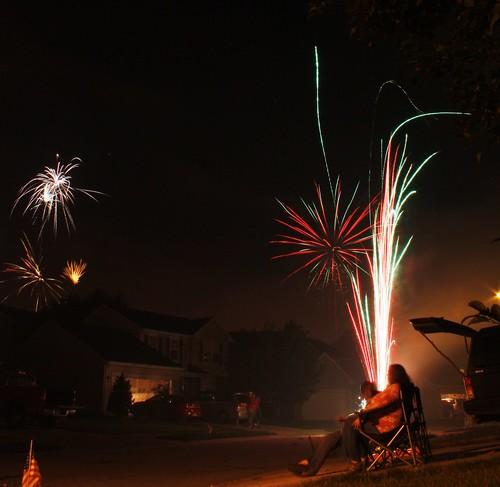 holiday night lights fireworks 4thofjuly independanceday