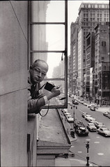 Henri Cartier-Bresson, 5th Avenue, by René Burri 1959