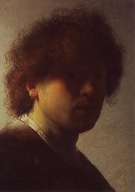 Rembrandt Van Rijn Self Portrait 1629 Rembrandt Van Rijn - S...