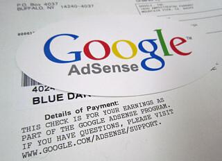 Google Adsense Sticker