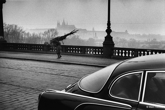 Prague, by Marc Riboud 1972