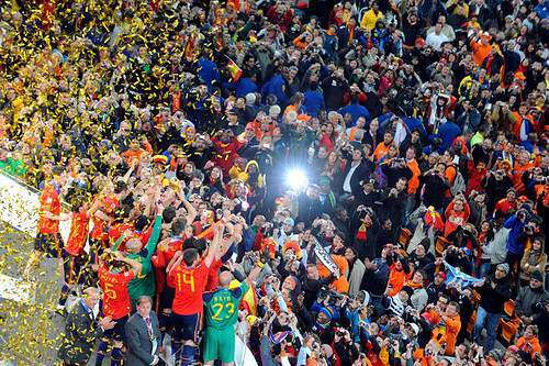 World Cup 2010 South Africa: Spain v Netherlands