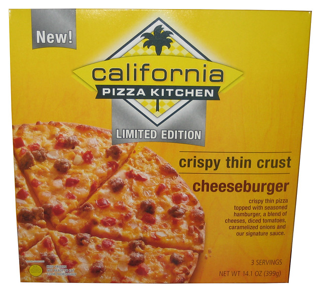 Limited Edition California Pizza Kitchen Cheeseburger