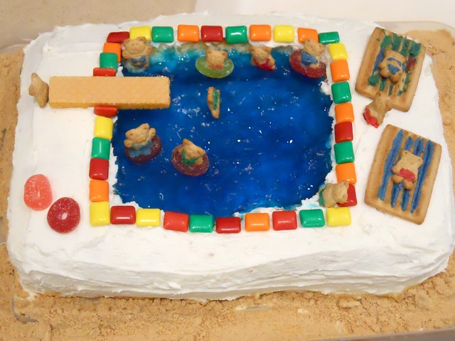 Swimming Pool Jello Birthday Cake Flickr Photo Sharing