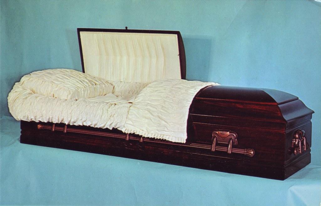 imperial casket co   model n 5  the bel-air colonial deluxe