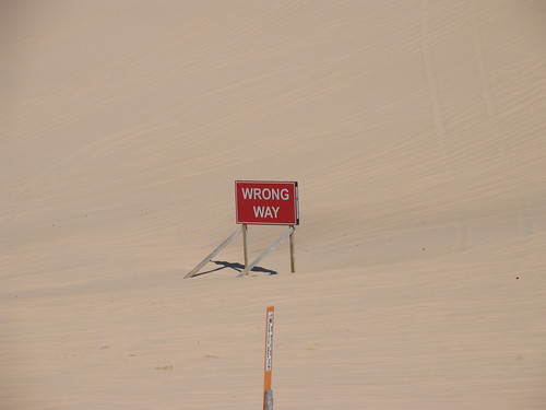 "wrong way sand dunes desolate abandoned ""Silver Lake July 3"""