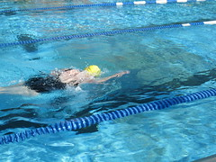 marine biology(0.0), breaststroke(0.0), swimming pool(1.0), individual sports(1.0), swimming(1.0), sports(1.0), recreation(1.0), outdoor recreation(1.0), swimmer(1.0), water sport(1.0), freestyle swimming(1.0),