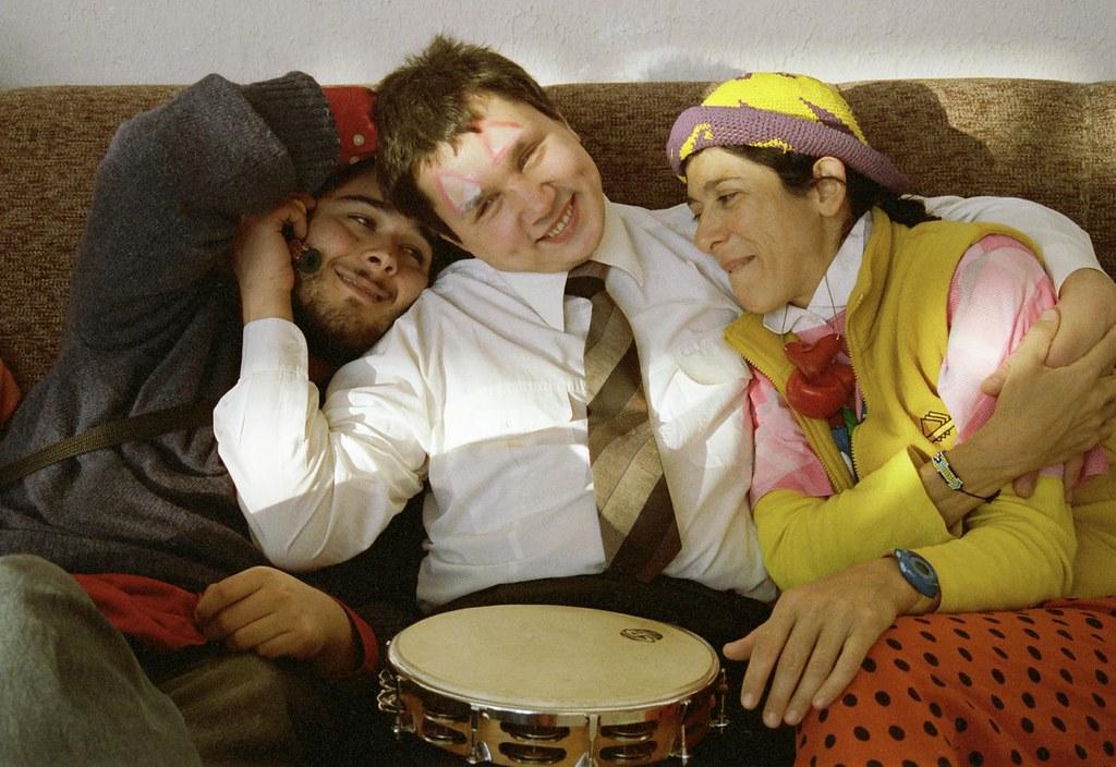 Clowning 1(John Glick/Russia Clown Trip 2004)