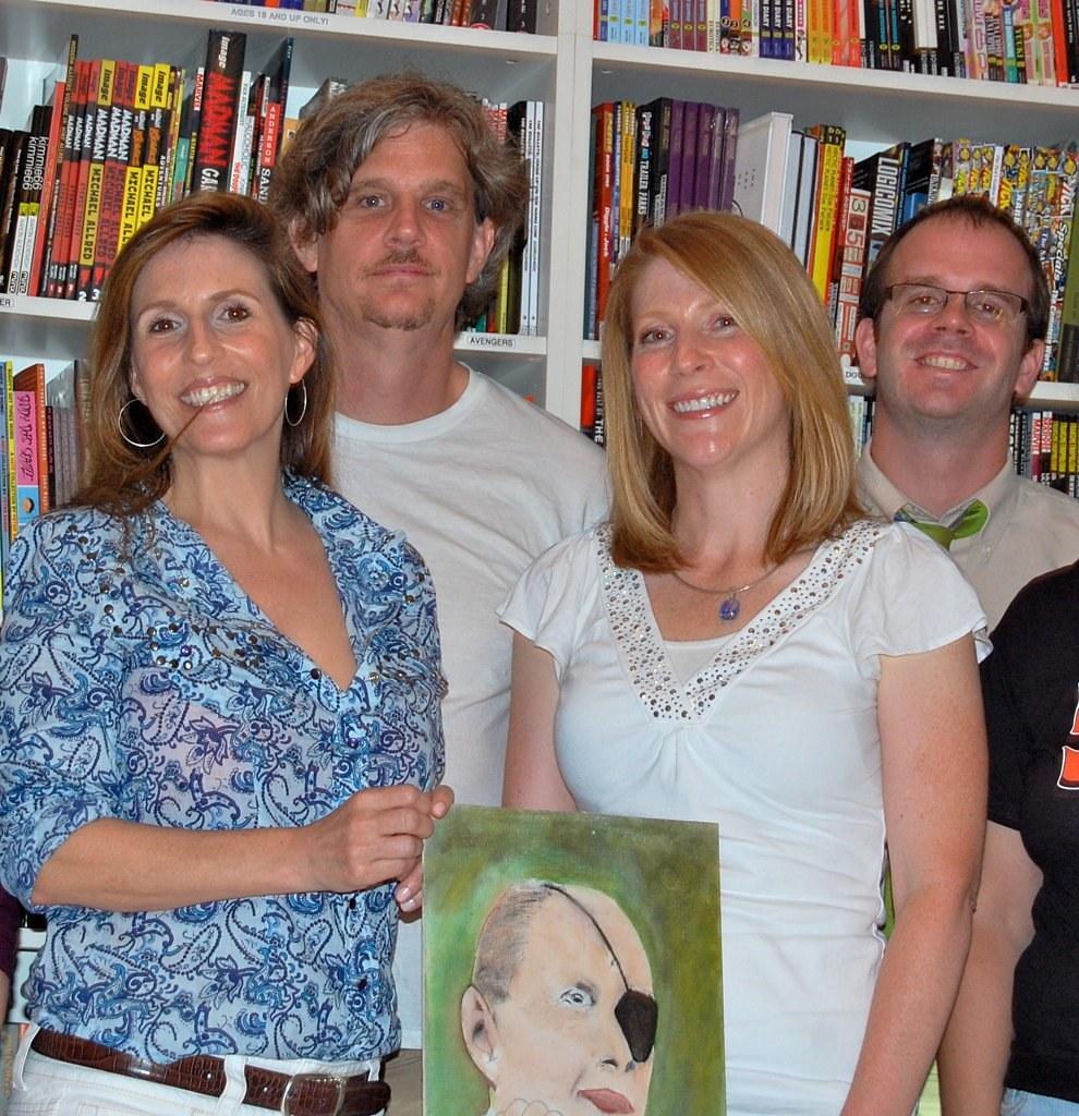 (l To R) Jessica Anya Blau, Joe Young, Kathy Flann And Adam