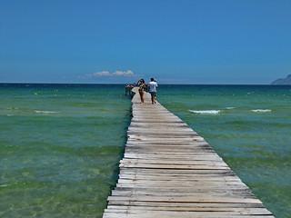 Image de Platja de Muro (Playa de Muro) Plage d'une longueur de 1648 mètres près de Port d'Alcúdia. holiday spain majorca maritimo alcudia grupotel