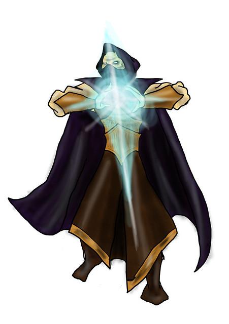 Male warlock