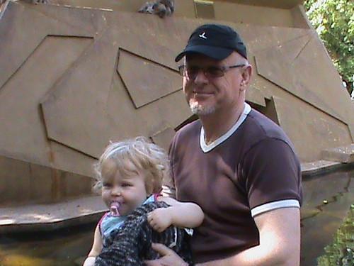Morgan Nicole & papa