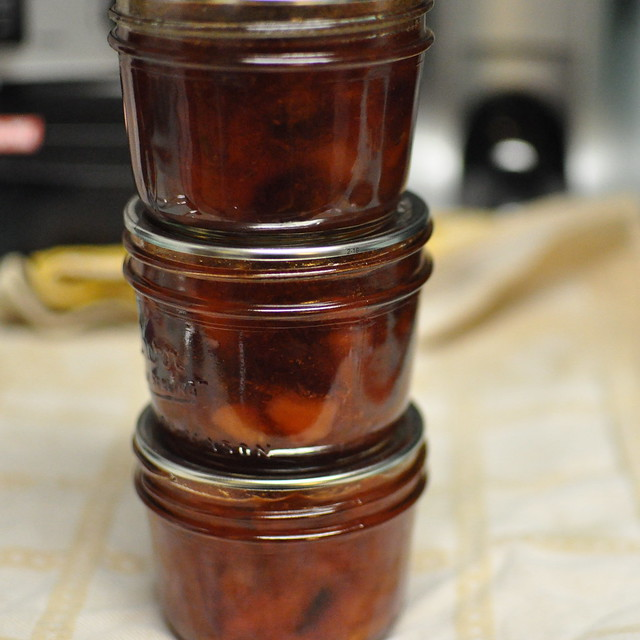 mixed stone fruit jam