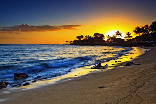 longexposure sunset beach landscape hawaii shannon kauai 5d canon5d canonef2470mmf28lusm circularpolarizer 2470mm thebeachhouse gnd bwcircularpolarizer graduatedneutraldensity cayze 5dmarkii canon5dmarkii shannoncayze hitech3stopgnd singhray3stopreversegnd