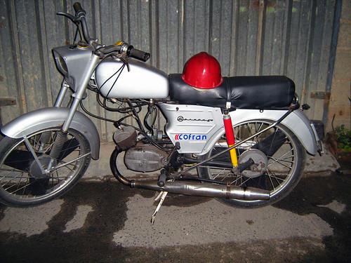 Мотоциклет Балкан 50 Златоград Balkan 50 Motorcycle Zlatograd Bulgaria by Balkanton
