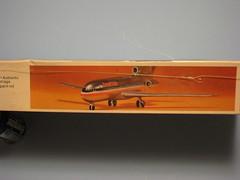 USAirfix 1/144  Boeing 727-200 kit box side