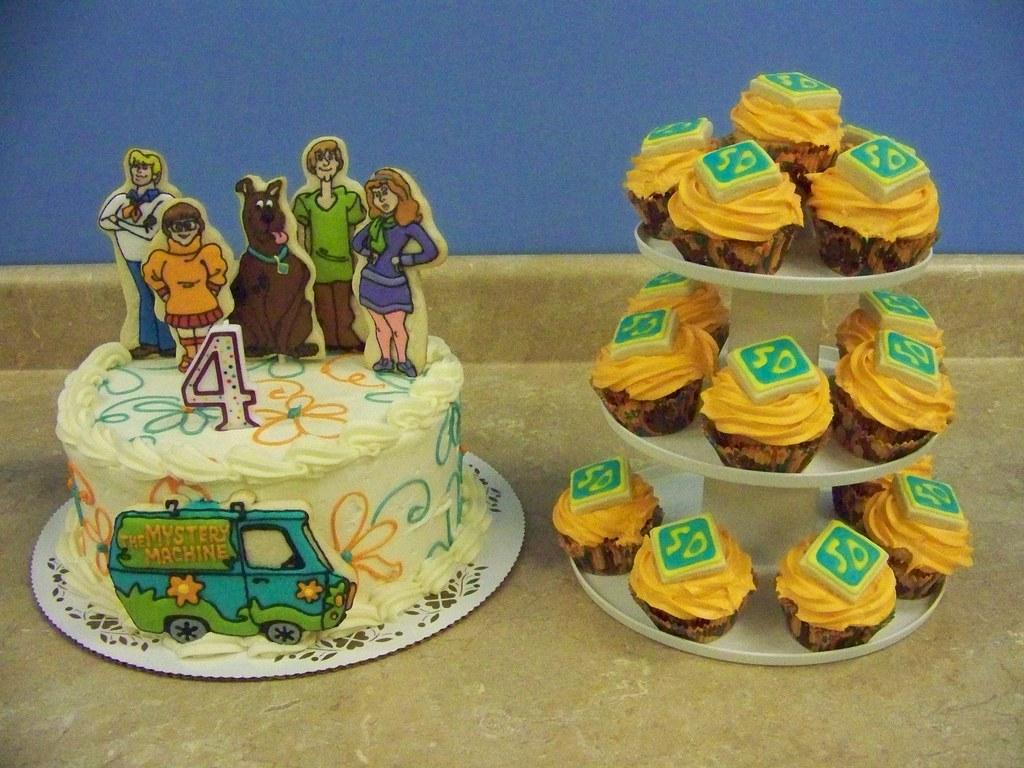 Scooby Doo Cake Cupcakes