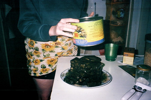 cake of dolmades