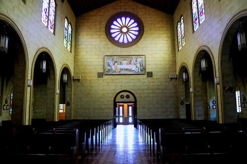 windows church glass abbey saint architecture university catholic leo stained holy monks grotto stleo