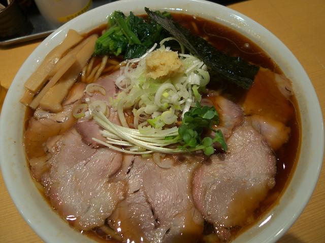生姜醤油ラーメン 我武者羅 Noodles