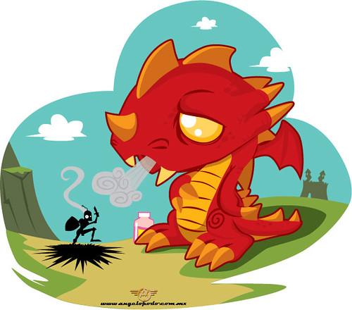 Pepto Dragon