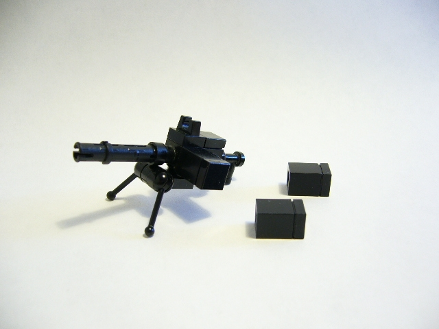 Lego Browning .30 Caliber Machine Gun