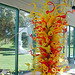 Dale Chihuly-Autumn Gold, Citron and Scarlet Tower with Glass Sprays 1