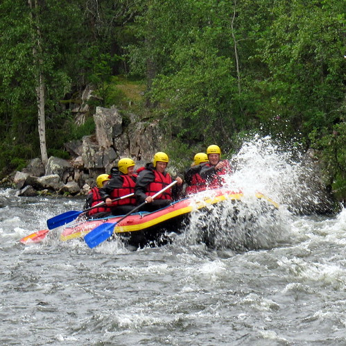 White Water Rafting Ruka and Kuusamo