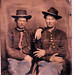 Robert Dotson and Buffalo Bill Cody