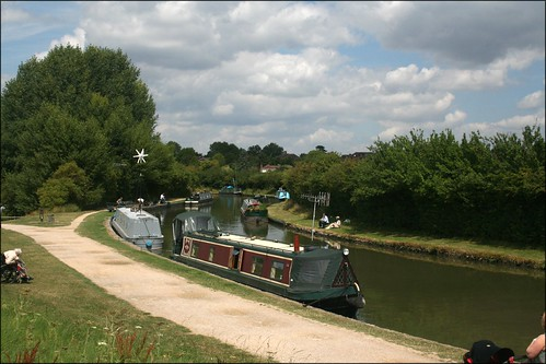 The Grand Union Canal at Marsworth