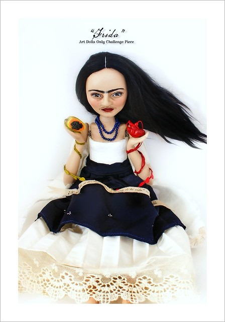 Frida Doll (work in progress)