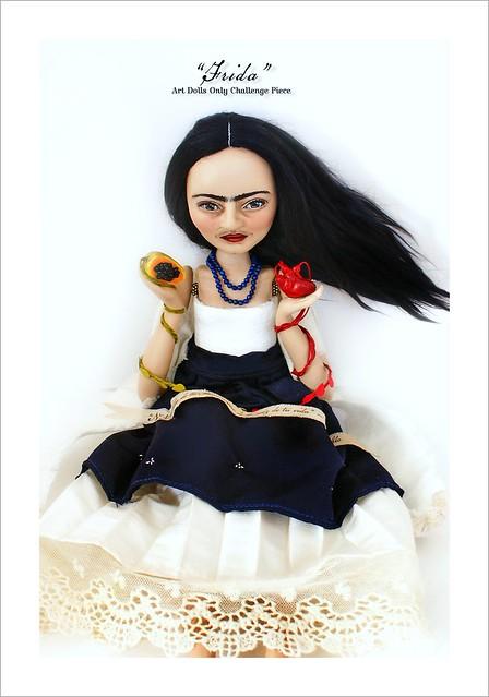 Frida Doll (work in progress)