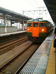 両毛線@JR前橋駅