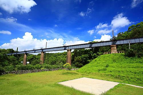 4M55三義舊山線-鐵橋