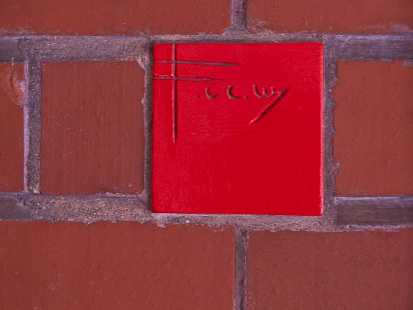 Red Tile Frank Lloyd Wright S Signature Johnson Wax