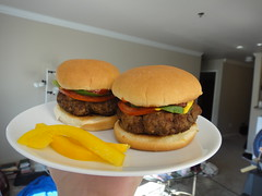 sandwich, meal, lunch, hamburger, slider, veggie burger, food, dish, breakfast sandwich, fast food, cheeseburger,