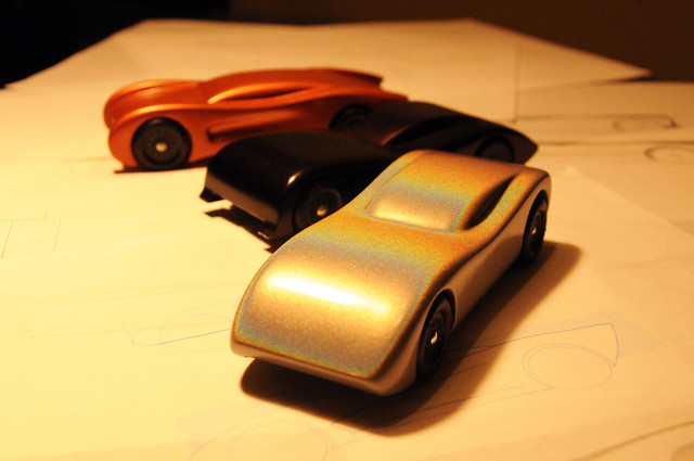 Pinewood derby cars the last years of csca