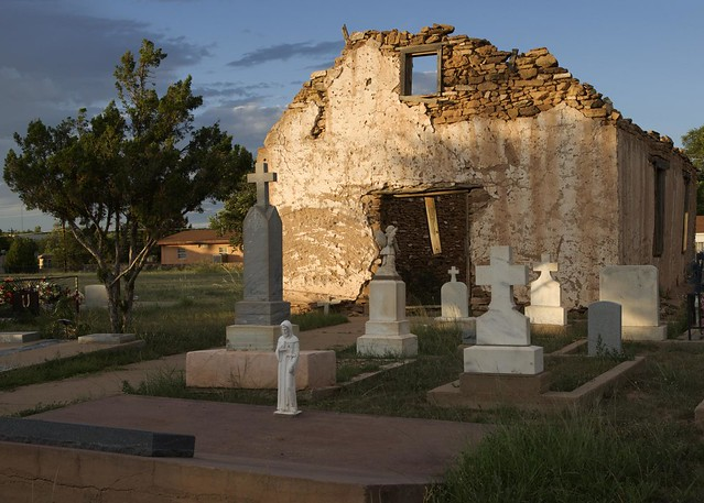 Old St Rose of Lima Church, Santa Rosa, New Mexico | Flickr - Photo Sharing!