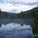 Lac au petit matin