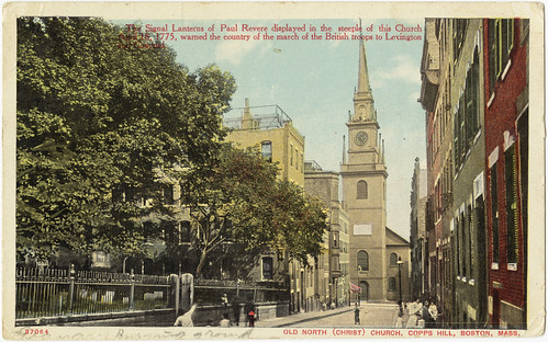 Old North (Christ) Church, Copps Hill, Boston, Mass. [front]