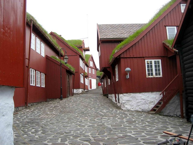 Historic Tinganes, Torshavn by CC user davidstanleytravel on Flickr