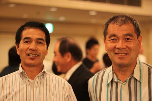 Matsuzaki Sensei and Sakagami Sensei