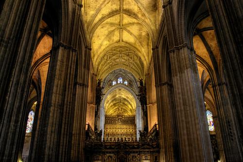 Otros viajes que ver en sevilla - Catedral de sevilla interior ...
