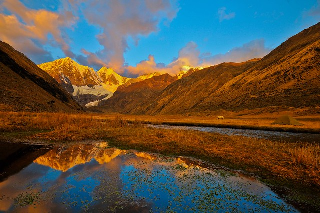 Huayhuash Mtns Camp, Peru