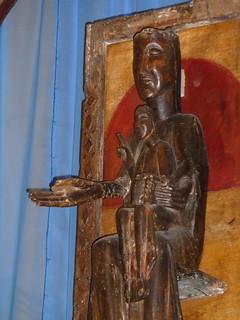 La vierge noire Notre-Dame de Belloc a Dorres 6