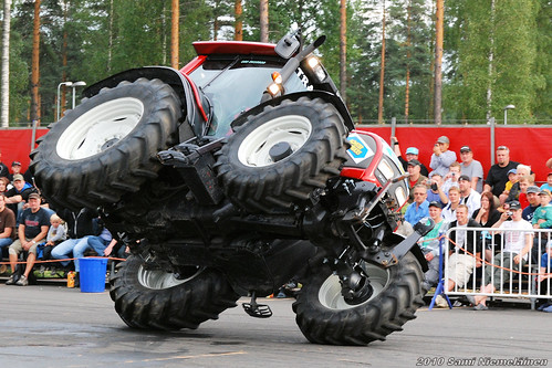Traber Monster Trucks Stunt Show
