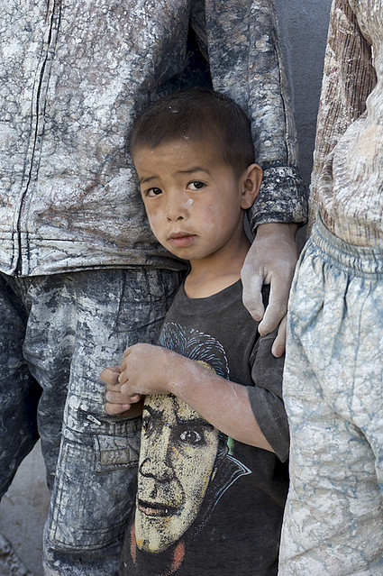 Hazara boy, Bamiyan Province, Afghanistan, by Steve McCurry 2007