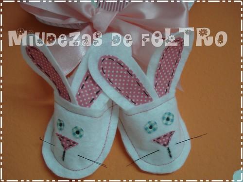 """Pantufas """"Coelhinhos"""" by miudezas_miudezas"""