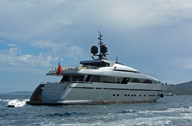 Superyacht Lena, the 5th hull of the 40 Alloy series by San Lorenzo has been ...